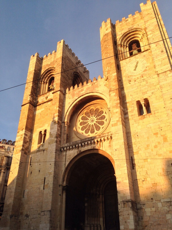 Se Cathedral, where the camino Portuguese begins