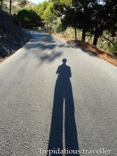 An early morning practice walk in Canillas de Albaida