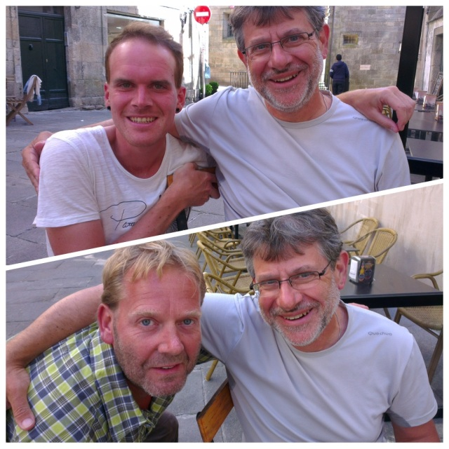 Top - Toby and bottom - Michael, both with Olivier