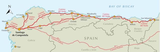 norte map